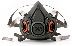 3M™ Half Facepiece Reusable Respirator, 6300  large