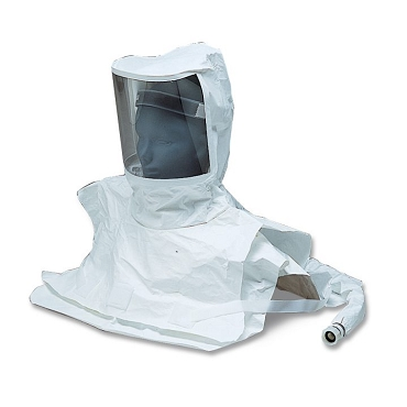 Double Bib Maintenance Free Tyvek Hood