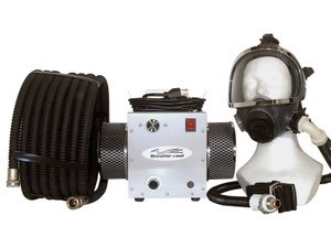 Breathe cool II Supplied Air Respirator System w/full face mask
