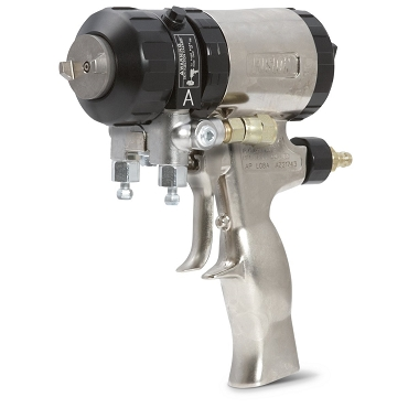 Round Pattern Fusion Air-Purge Stud Wall Gun with 0.070 Mix Chamber