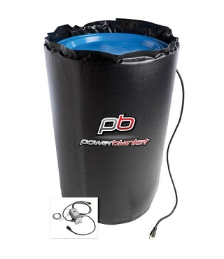 Powerblanket BH55RR-80 Rapid Ramp Blanket Heater Fixed 80º For 55 Gallon Drums