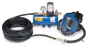 Allegro Supplied Air Pump Package, 1 person
